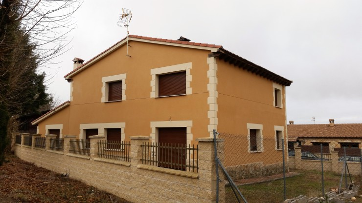 Exterior - fachada posterior derecha